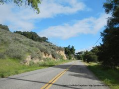 climb up to Zaca Mesa Hill