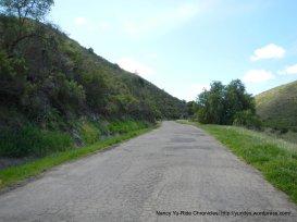 single lane road