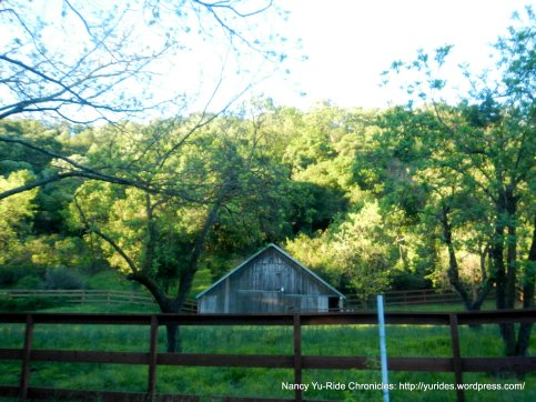 barn on Franklin Canyon