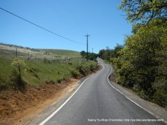 one more climb on Morgan Territory