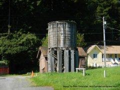 Freestone water tower