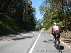 descend from San Pablo Dam