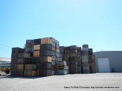 wooden fruit crates-Graton