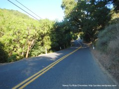 rolling terrain on Alhambra Valley Rd