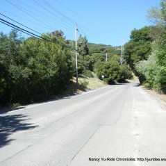 climb up Castro Ranch Rd