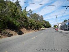 climb on Pomona St-Crockett