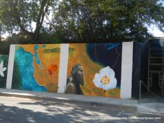 murals on Franklin Canyon