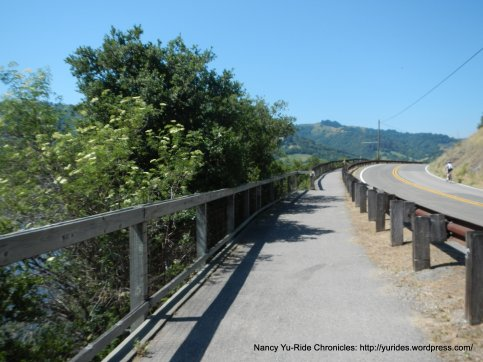 bike path to the lake