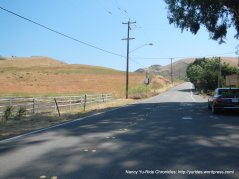 short steep 9-12% climb-Calaveras