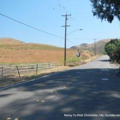 short steep 9-12% climb-Calaveras