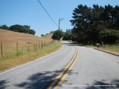 rolling climbs on Felter