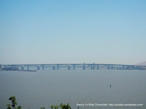 view of the Benicia-Martinez Bridge
