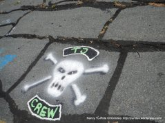 more road art
