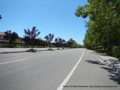 riding through Blackhawk neighborhood