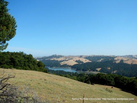 view of San Pablo Reservoir