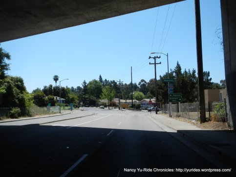 on Sunnymere under I-580