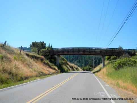 downhill to San Geronimo