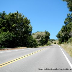 begin climb up Olema Hill