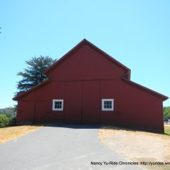 red barn at Bear Valley Visitors Center