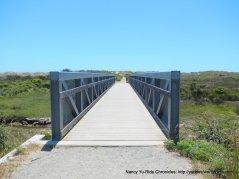 bridge across the marshes