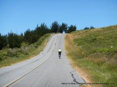 short steep climb