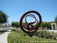 sculpture on Balfour Rd