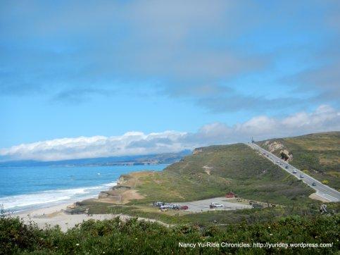 Ocean views from CA-1