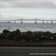 view of SF Bay & Richmond-San Rafael Bridge