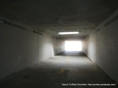 tunnel along path