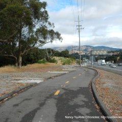 bike path parallel Hwy 101
