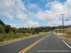 towards Hicks Valley