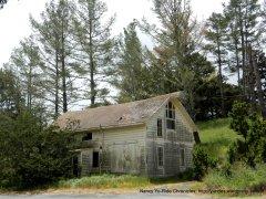 old white farmhouse