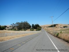 short climbs on Chileno Valley Rd