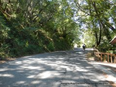 climb up Bolinas Rd
