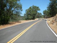 winding road-average 6% grade
