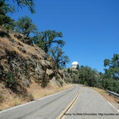 near Mt Hamilton summit