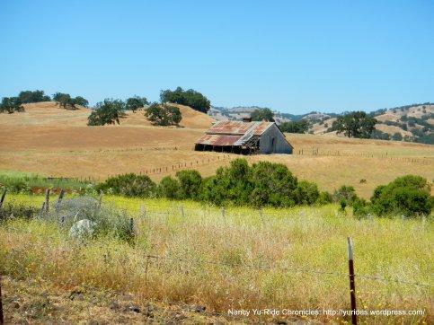 old barn at Grant Park