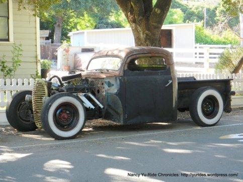vintage truck-Sunol