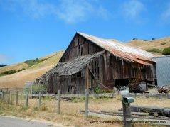 beaten weathered barn