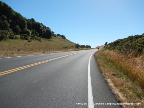 short climb up Pt Reyes Petaluma Rd