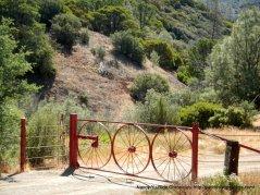 wagon wheel gate