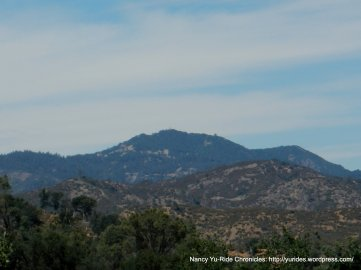 view of Mt Hamilton from Mines