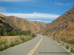 exiting canyon