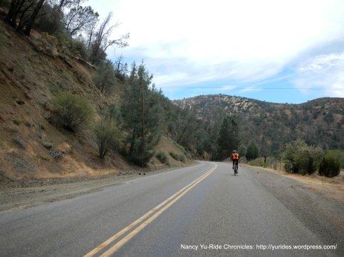 up through canyon