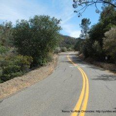begin steep 1.7 mile climb