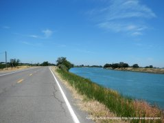 Sutter Slough-levee road