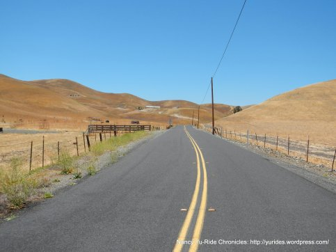 Collier Canyon-gentle terrain