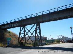 Benicia train trestle