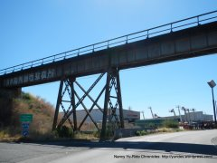 Benicia train trestle