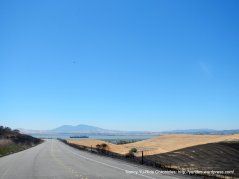 view of Diablo & Suisun Bay